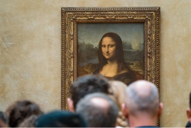 The Mona-Lisa portrait